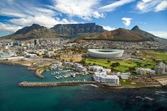 Cape Town High Angle 2 by Johan Dempers.