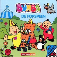 Bumba kartonboek met flapjes: De fopspeen