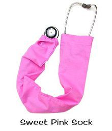 Stethoscope Cover Sweet Pink