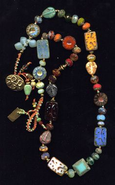 Beads Threads is where to go for What Women Buy for Themselves. Jewelry that is bright, colorful, and fun to wear--all handmade and original.