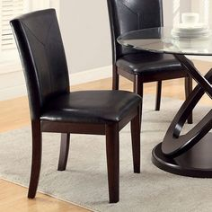 Atenna I by Furniture of America CM3774SC Dining Chair 48 Round Dining Table, Parsons Dining Chairs, Solid Wood Dining Chairs, Leather Dining Chairs, Upholstered Dining Chairs, Dining Chair Set, Dining Room, Outdoor Dining Furniture, Furniture Chairs