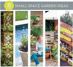 Roundup: Small Space Garden Ideas