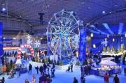 winter wonderfest at navy pier. christmas in chicago really great place to go!!!!