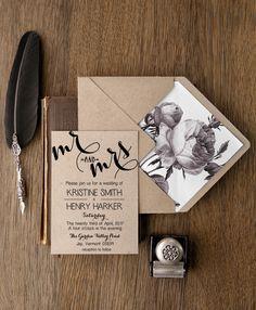 WEDDING INVITATIONS 01/BCC/z