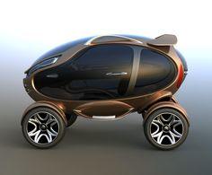 Citroën EGGO - Um carro conceito em forma de Ovo para as ruas do futuro. | ROCK'N TECH