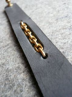 slate chain cuff. $50.00, via Etsy.: