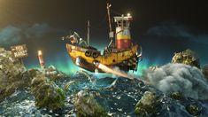 Community Events, Art Challenge, Small World, Pixar, Digital Art, Challenges, Ocean, Artist, Artwork