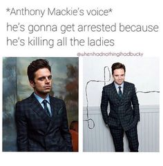 I definitely can imagine Mackie sayin that << probably because he actually said it once<< Anthony and Seb are the best xD
