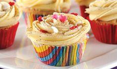 Cupcake gourmet de cappuccino: sirva essa gostosura em sua festa!
