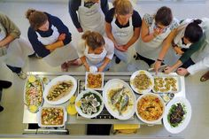 the grange cookery school Spices, School, Ethnic Recipes, Kitchen, Food, Cuisine, Meal, Eten, Home Kitchens