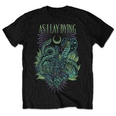 As I lay Dying Men's Tee: Cobra Wholesale Ref:AILDTS01MB