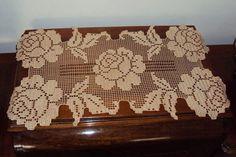 dantel örtü modelleri Fillet Crochet, Crochet Doilies, Crochet Patterns, Model, Home Decor, Farmhouse Rugs, Craft, Crochet Blankets, Centerpieces