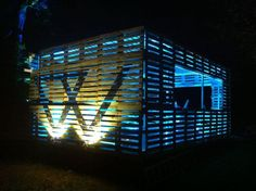 """The cocktail bar and the """"chill area"""" #Bar, #Festival, #Pallets Jajaja si"""
