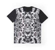 Zebra Jungle Grafik T-Shirt