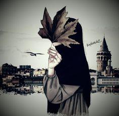 Arab Girls Hijab, Girl Hijab, Muslim Girls, Hijabi Girl, Cover Wattpad, Muslim Pictures, Tmblr Girl, Hijab Drawing, Islamic Cartoon