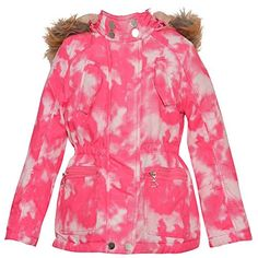 a97a63ff4d5f Yoki Big Girls Red Back Button Detail Double Breasted Hooded Coat 7 ...