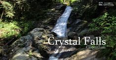 Crystal Falls is an easy hike through a pleasant forest in Coquitlam. It's a great hike to bring the kids and dogs on and can be hiked year-round. Hot Days, Shallow, Pools, Dip, Bathing, Waterfall, Hiking, Swimming, River