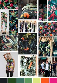 A/W 2014 Print Trend | Dark Tropics - Write On Trend