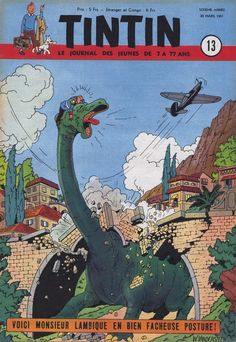 Le Journal de Tintin - Edition Belge - N°  236 - 1951-13 - Mercredi 28 Mars 1951 - Couverture : Willy Vandersteen
