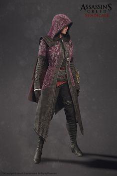 Evie Frye Outfit - Assassin'S Creed Syndicate, Sabin Lalancette on ArtStation at https://www.artstation.com/artwork/312YD