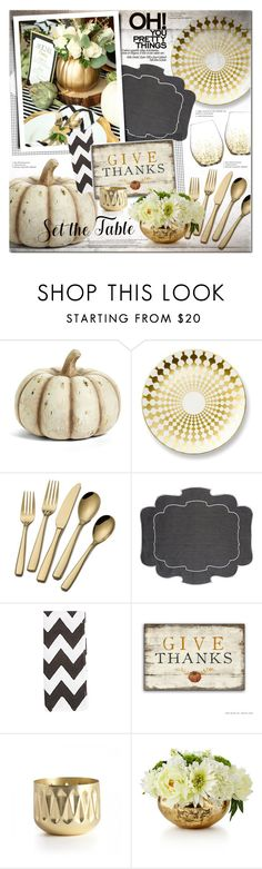 """Give thanks"" by justlovedesign ❤ liked on Polyvore featuring interior, interiors, interior design, home, home decor, interior decorating, K&K Interiors, B by Brandie, La Gallina Matta and Madeline Weinrib"