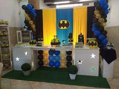 Decoração infantil Batman