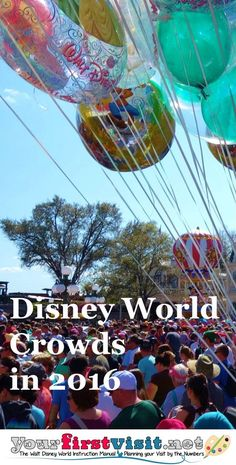 Disney World Crowds in 2016 - The Walt Disney World Instruction Manual --yourfirstvisit.net
