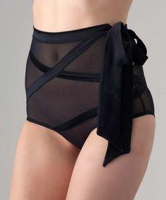 Myla Verna black high-waisted briefs, Designer Underwear Sale, Myla , Secret Sales