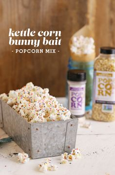 Get ready for Easter with Kettle Corn Bunny Bait. This easy recipe will win over all the bunnies at your Easter get together.