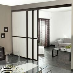 1000 images about cloison on pinterest atelier cuisine and glass partition. Black Bedroom Furniture Sets. Home Design Ideas