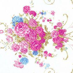 """Cotton 100% Bedding Vintage Shabby Rose Damask Pink 62"""""""
