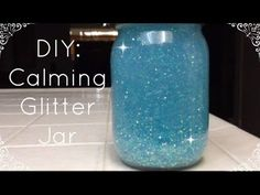 YAY! MY FIRST TUTORIAL! This cute little jar can double as both a decorative room piece and a stress reliever. Super inexpensive and fun to make/do. Enjoy! :...