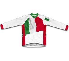 Italy Flag Winter Thermal Men Cycling Jersey Winter Cycling Clothing ropa ciclismo for Bicycle Sports
