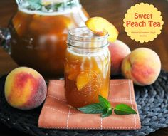 Sweet Peach Tea - Sweet tea is widely considered to be the house wine of the South. When peaches are at their peak, you can enjoy this fruity warm weather specialty combining sweet tea with the favored fruit of Summer. For the best results choose peaches that are sightly soft...Read More »