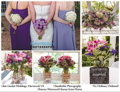 Purple, pink, and white bouquet by Westwood Heaven Scent Florists.