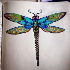 #jardimsecretoinspire #jardimsecreto #secretgarden #colors #terapia #johannabasford #jardimcolorido #florestaencantada