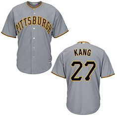 Get this Pittsburgh Pirates Jung-Ho Kang Road Cool Base Replica Jersey at ThePittsburghFan.com
