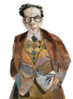 3 - riccardovecchio.com The New Yorker, Illustrators, Art Drawings, Illustration Art, Ink, Watercolor, Portraits, Books, Fictional Characters