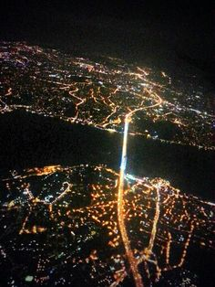 One city,  two continents. Istanbul
