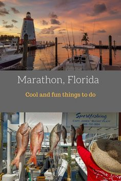 Marathon city, Florida - fun recreation and adventures sports, delicious food eateries and other find dining and where to stay on the island. Check out my recent post here :