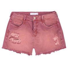 fbe454a50f Shorts em sarja de algodao de cor estonada na DZARM. - Os shorts ficam muita