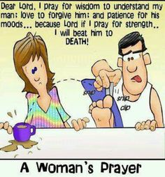I love my husband dearly, but this is so true :)