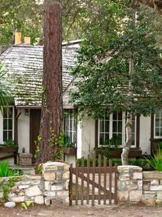Carmel cottage.... Keep in mind how cool the cottages in Carmel are when planning small retirement place.  loved my time there