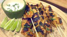Spicy Key West Chicken Kabobs   Good Food Good Friends