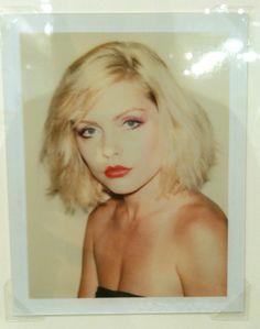 Warhol photo of Debbie Harry, Polaroid Museum, Las Vegas NV