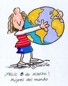 8 Marzo : DÍA INTERNACIONAL DE LA MUJER / March 8: INTERNATIONAL WOMEN'S DAY
