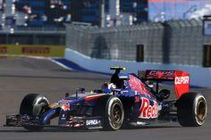 """Daniil Kvyat: """"Es genial conseguir la quinta plaza en la calificación de hoy aquí en mi país"""