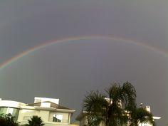 arco-íris lindo.