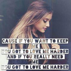Love Me Harder - Ariana Grande & The Weeknd