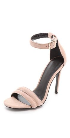 perfect nude ankle strap heel. www.withlovefromkat.com